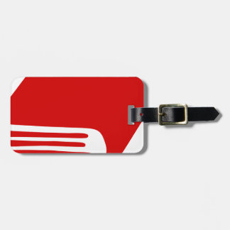 Red Book Luggage Tag