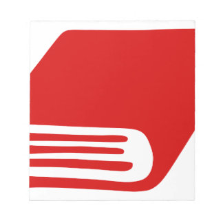 Red Book Notepad