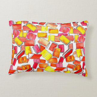 Red Books Reversible Cushion