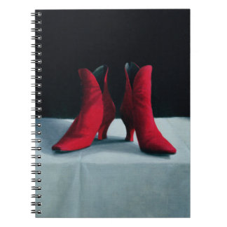 Red Boots 1995 Notebook
