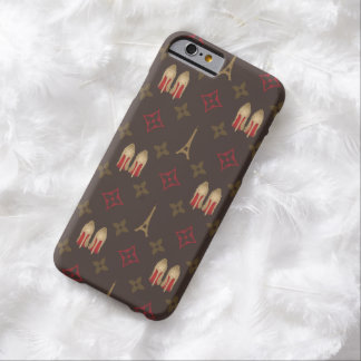 Red bottoms stilettos shoes heels lv monogram barely there iPhone 6 case