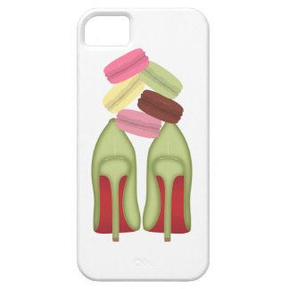 Red Bottoms stilettos shoes, high heels & macarons Barely There iPhone 5 Case