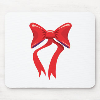 Red Bow Mousepads
