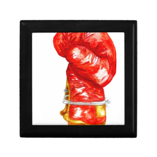 Red Boxing Glove Gift Box