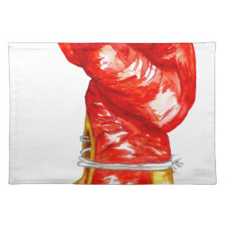 Red Boxing Glove Placemat