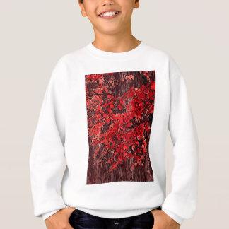Red branches sweatshirt