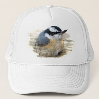 Red-breasted Nuthatch Trucker Hat