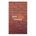 Red Brick Mason Business Cards
