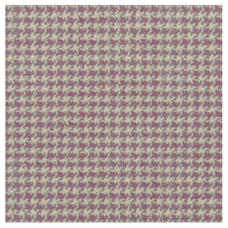 Red, brick red, cool red, deep red, houndstooth fabric