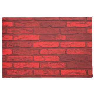Red Brick Rustic Country Farmhouse Doormat
