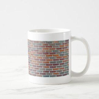 Red Brick Wall: Basic White Mug