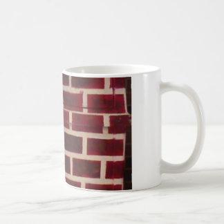 Red Bricks Basic White Mug