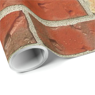 Red Bricks Gift Wrapping Paper