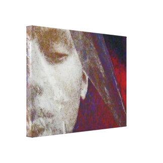 Red Bride Canvas Print