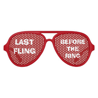 Red Bride's Party Eye Glasses