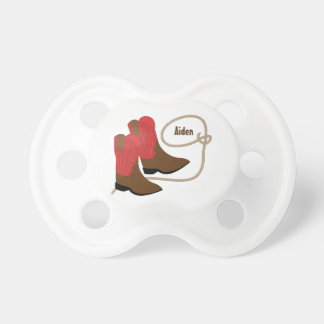Red & Brown Cowboy Boots & Rope, Personalized Dummy
