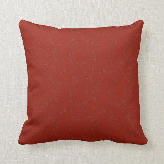Red Bubbles Cotton Reversible Pillow