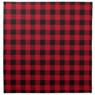 Red Buffalo Plaid Cloth Napkins