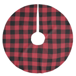 Red Buffalo Plaid Tree Skirt