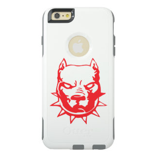 red bulldog head tattoo art OtterBox iPhone 6/6s plus case