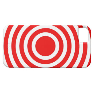 Red Bulls Eye Target iPhone 5 Case Mate