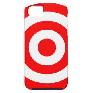 Red Bullseye Target iPhone 5 Cover
