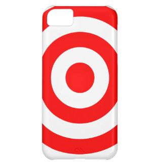 Red Bullseye Target iPhone 5C Case