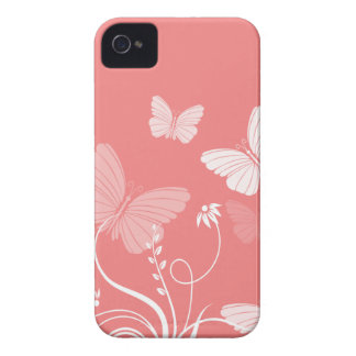 Red butterflies BlackBerry Bold Case