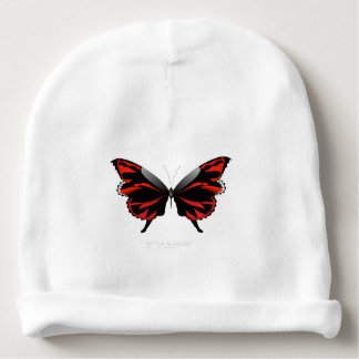 Red Butterfly 1 by tony fernandes Baby Beanie