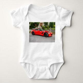Red C7 Chevrolet Corvette Baby Bodysuit