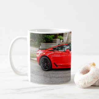 Red C7 Chevrolet Corvette Coffee Mug