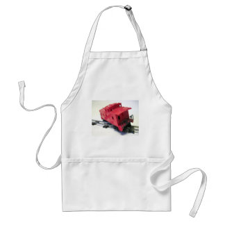 Red Caboose Standard Apron