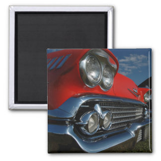 Red Cadillac Magnet