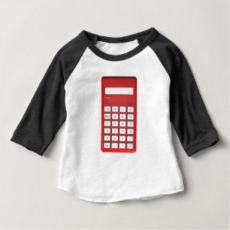Red calculator calculator baby T-Shirt