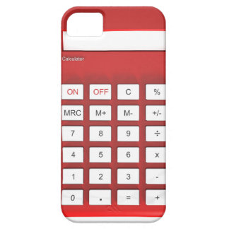 Red calculator calculator barely there iPhone 5 case