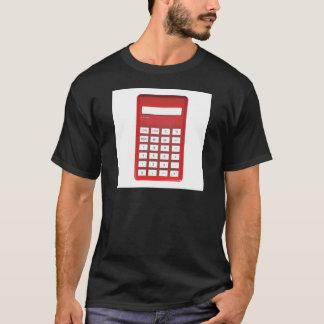Red calculator calculator T-Shirt