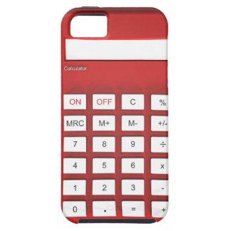 Red calculator calculator tough iPhone 5 case