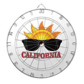 red California cool Dartboard
