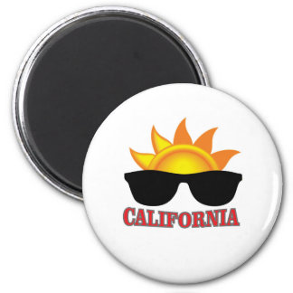 red California cool Magnet