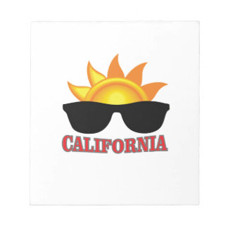 red California cool Notepad