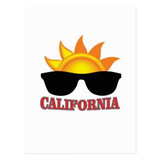 red California cool Postcard