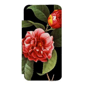 Red Camellia, 1833 Incipio Watson™ iPhone 5 Wallet Case
