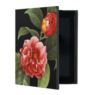 Red Camellia, 1833 iPad Folio Case