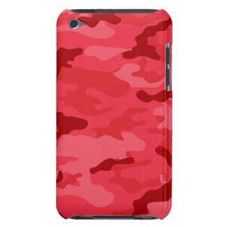 Red Camo Case-Mate iPod Touch Barely There iPod Covers