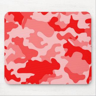 Red Camo Mousepad