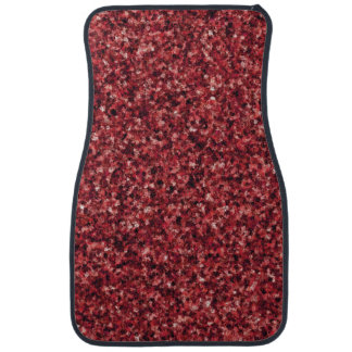 Red Camouflage Front Car Mat