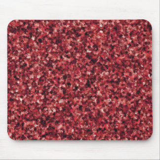Red Camouflage Mouse Pad
