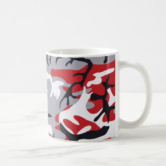 Red Camouflage Mug