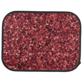 Red Camouflage Rear Car Mat