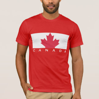Red Canada Jersey T-Shirt